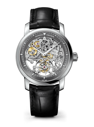 42MM 14 DAYS TOURBILLON OPENWORKED