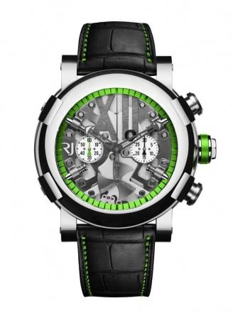 STEAMPUNK CHRONO GREEN