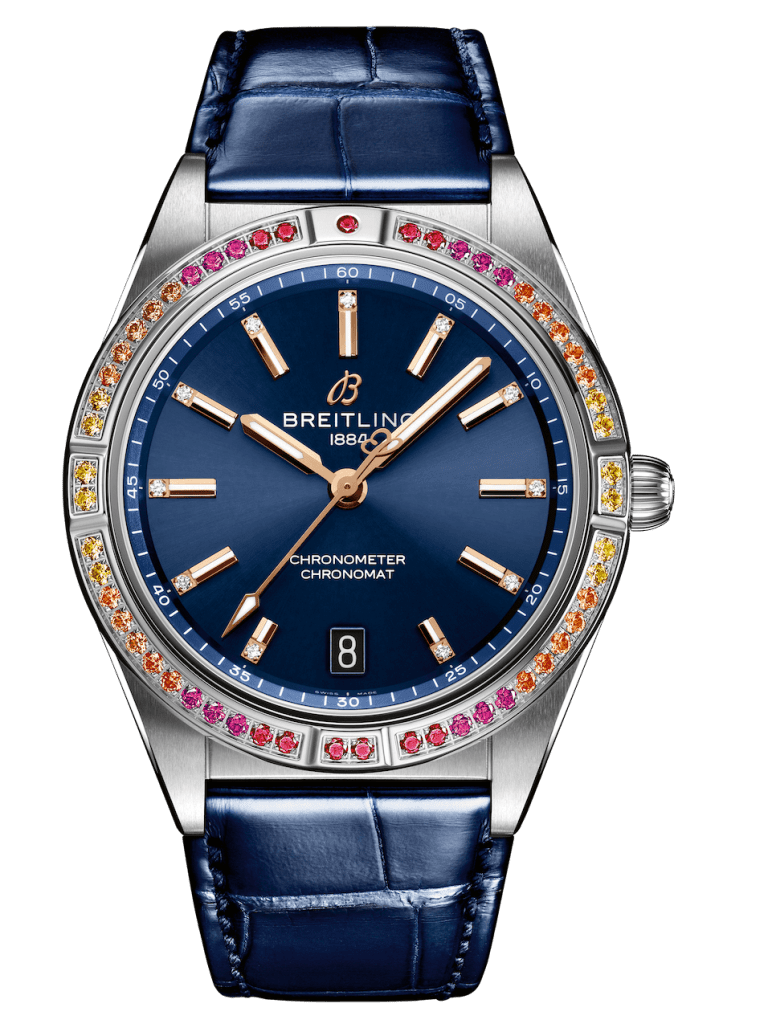 BREITLING CHRONOMAT AUTOMATIC 36 36mm A10380611C1P1 Blue