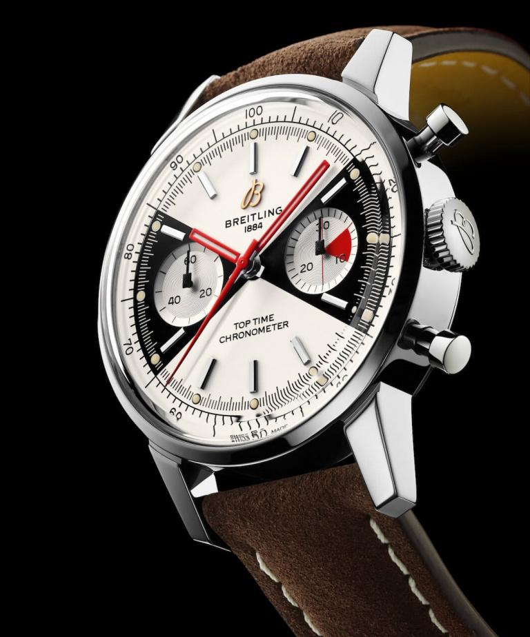 BREITLING PREMIER TOP TIME 41mm A23310121G1X1 Blanc