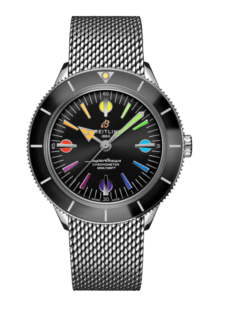 BREITLING SUPEROCEAN HERITAGE HERITAGE '57 42mm A103701A1B1A1 Black