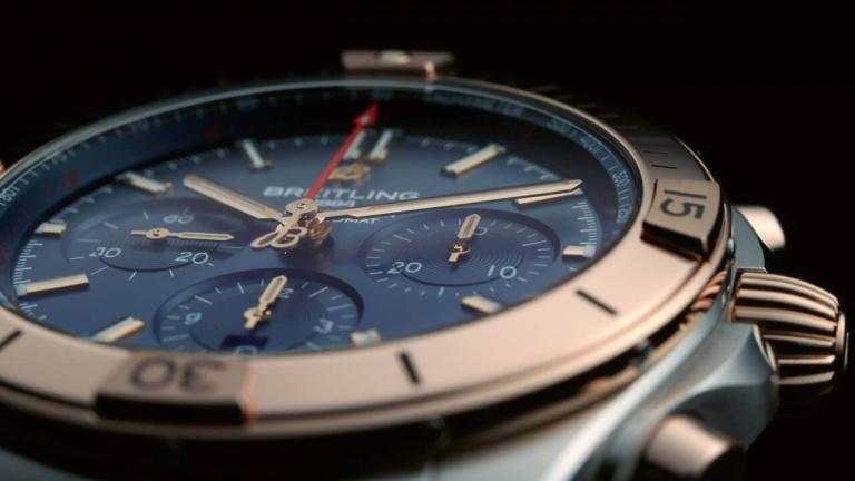 BREITLING CHRONOMAT B01 42MM 42mm UB0134101C1U1 Bleu