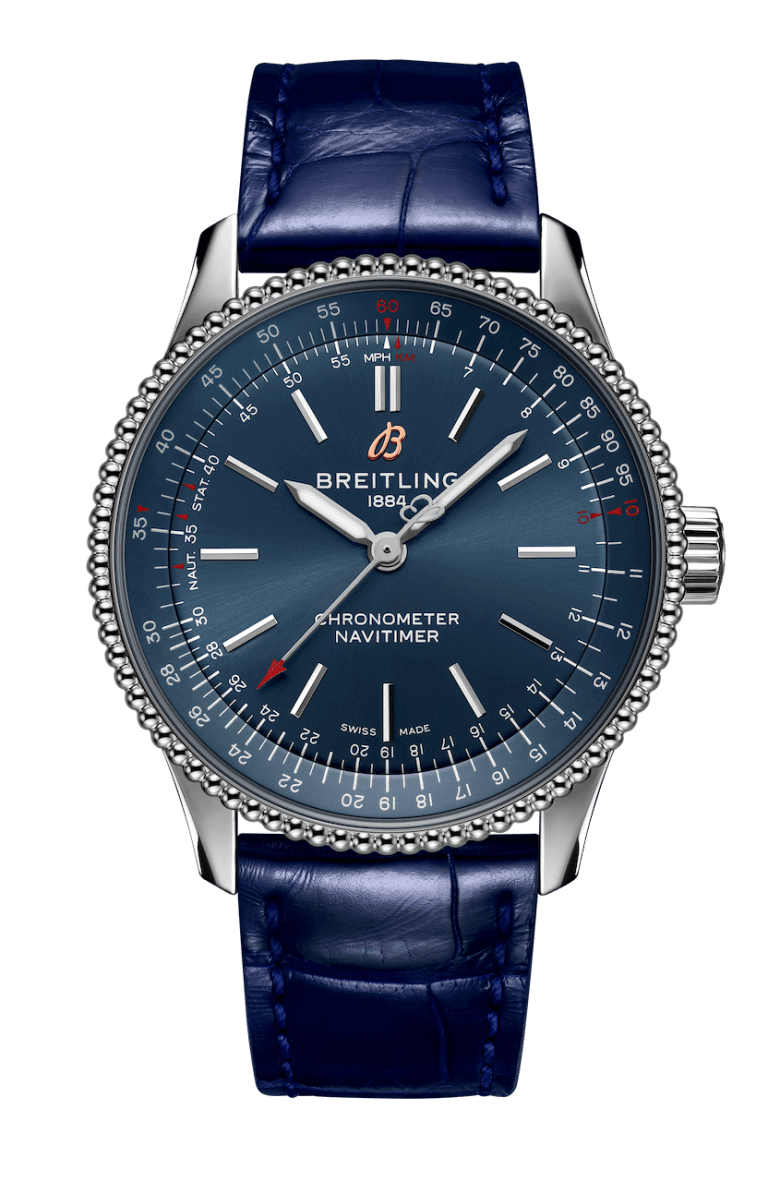 BREITLING NAVITIMER AUTOMATIC 35 35mm A17395161C1P1 Blue