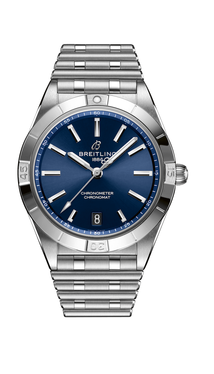 BREITLING CHRONOMAT AUTOMATIC 36 36mm A10380101C1A1 Blue