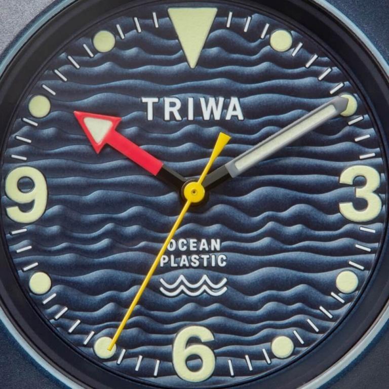 TRIWA OCEAN PLASTIC DEEP BLUE 37mm OCEAN DEEP BLUE Bleu