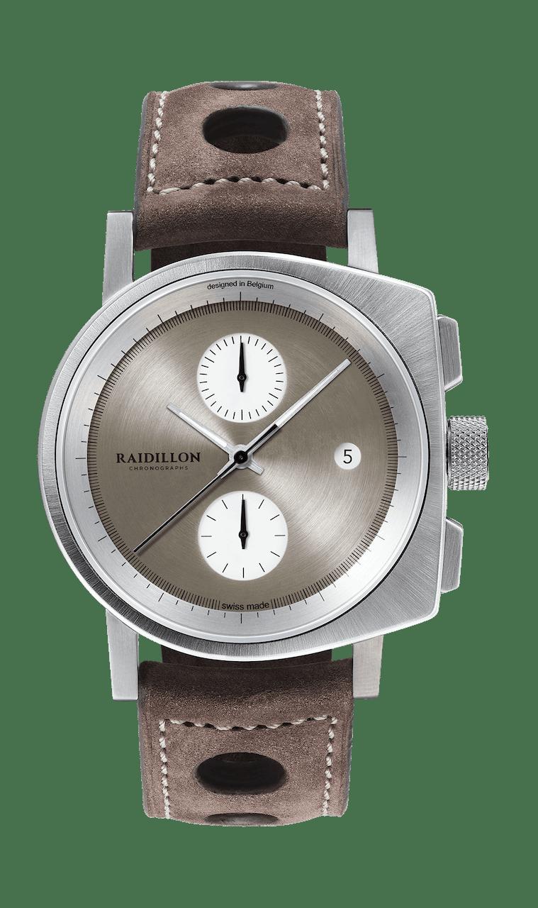 RAIDILLON CURVE CHRONOGRAPH 41mm 41-CIC-301 Marron