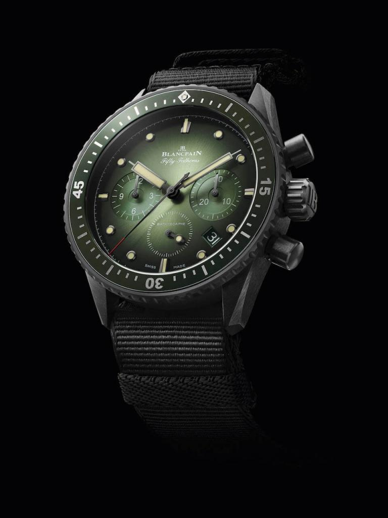 BLANCPAIN FIFTY FATHOMS BATHYSCAPHE FLYBACK CHRONOGRAPH 43.6mm 5200-0153-NABA Autres