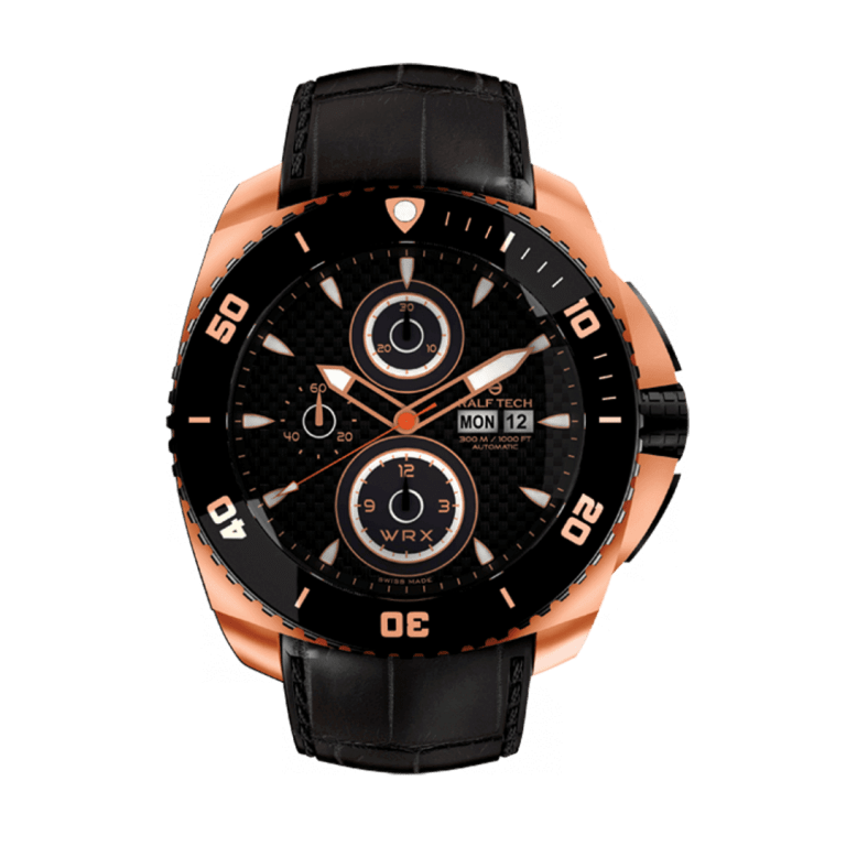 RALF TECH WRX C SUNSET AUTOMATIC CHRONOGRAPH 47.5mm WRX 3103 Noir
