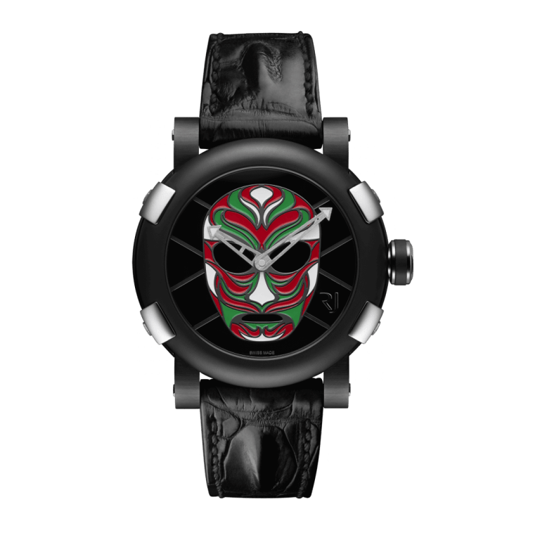 RJ WATCHES COLLABORATIONS LUCHA LIBRE MEXICANA 46mm RJ.T.AU.LL.001.05 Other