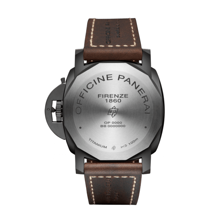 PANERAI LUMINOR 3 DAYS TITANIO DLC 47mm PAM00629 Noir