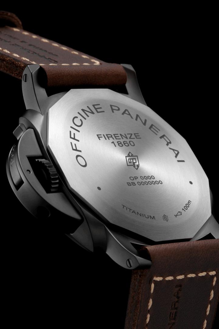 PANERAI LUMINOR 3 DAYS TITANIO DLC 47mm PAM00617 Noir