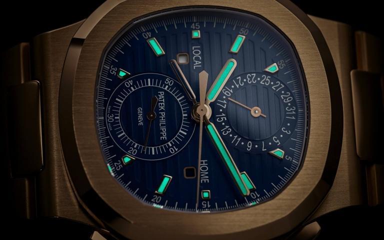 PATEK PHILIPPE NAUTILUS 5990/1R 40.5mm 5990/1R-001 Bleu