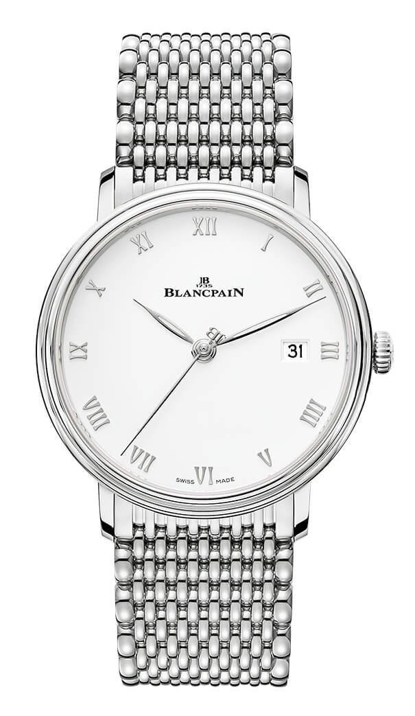 BLANCPAIN VILLERET ULTRA THIN 38mm 6224-1127-MMB White