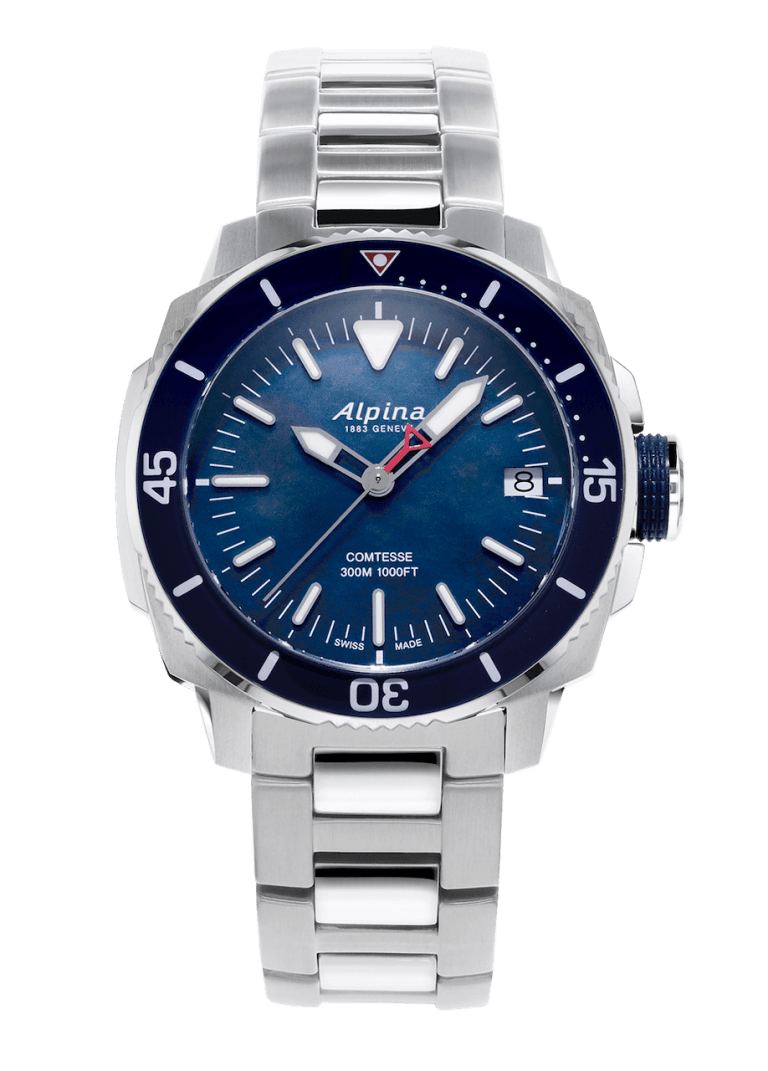 ALPINA SEASTRONG COMTESSE 34mm AL-240MPN2VC6B Bleu