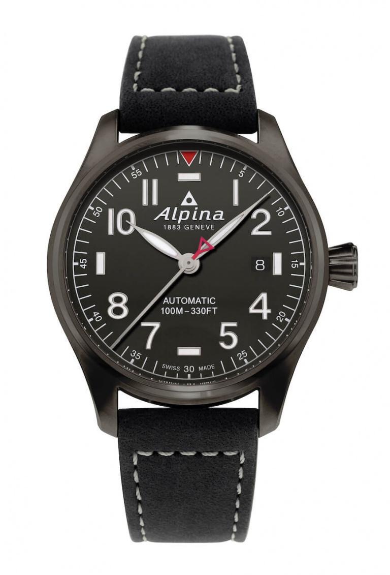 ALPINA STARTIMER PILOT AUTOMATIC 40mm AL-525G3TS6 Noir