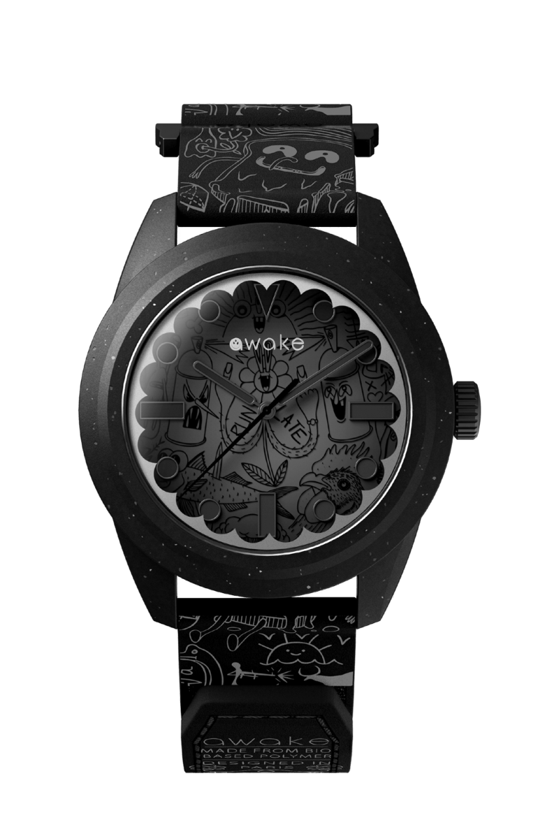 AWAKE .01 NICOLAS BARROME FORGUES 42mm BR20BK001U Black