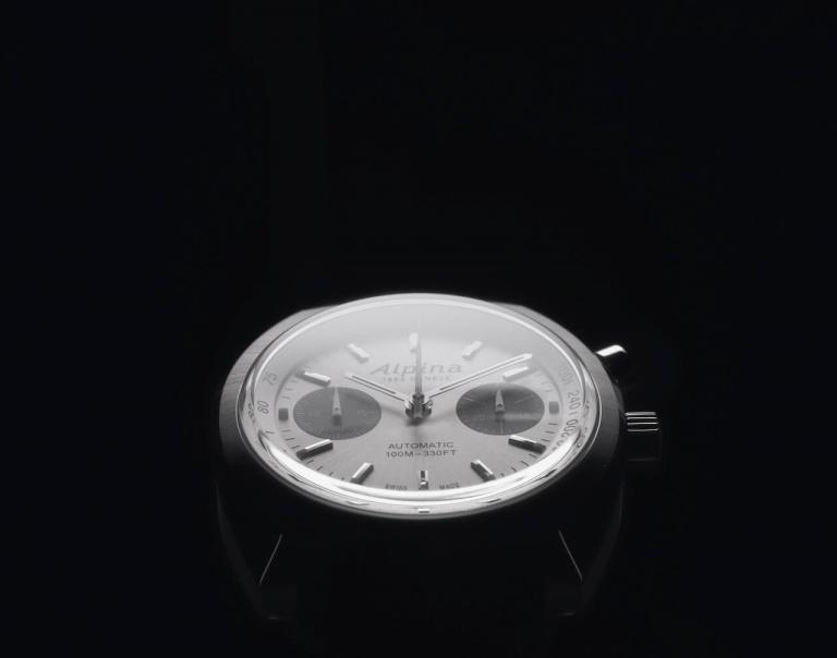 ALPINA STARTIMER PILOT HERITAGE CHRONOGRAPH 42mm AL-727SS4H6 Silver