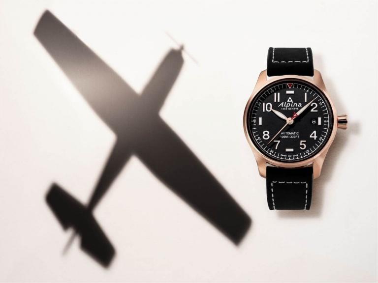 ALPINA STARTIMER PILOT AUTOMATIC 40mm AL-525NN3S4 Black