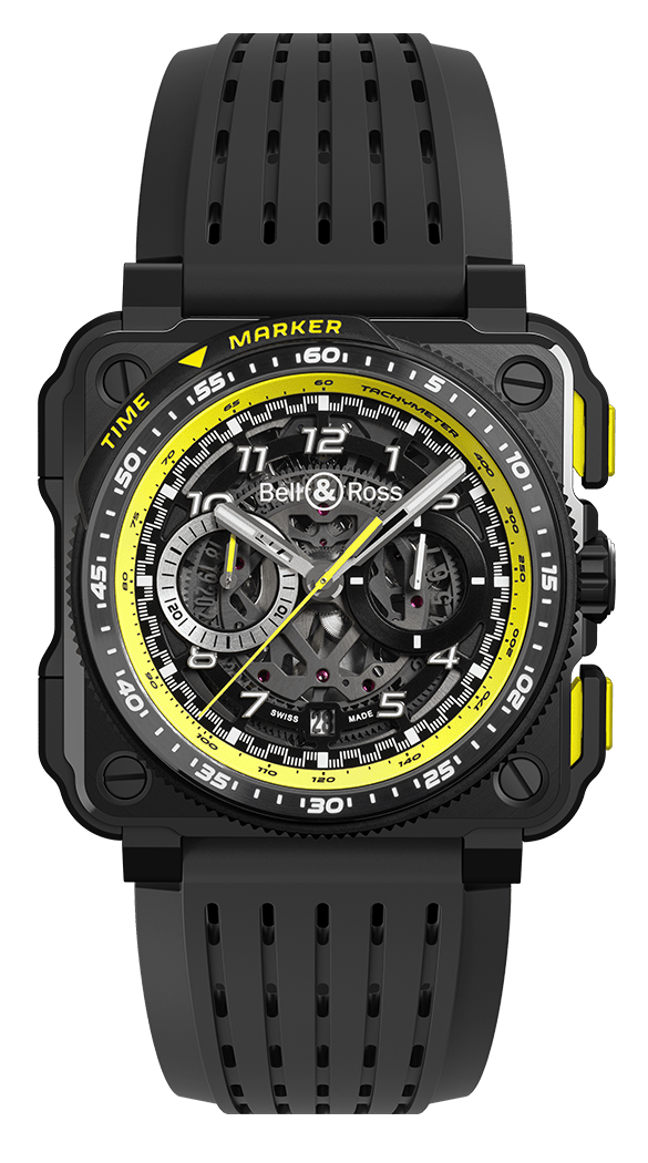 BELL & ROSS EXPERIMENTAL BR-X1 BR-X1 R.S.20 45mm BRX1-RS20/SRB Skeleton