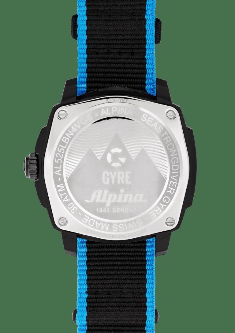 ALPINA SEASTRONG GYRE 44mm AL-525LBN4VG6 Black