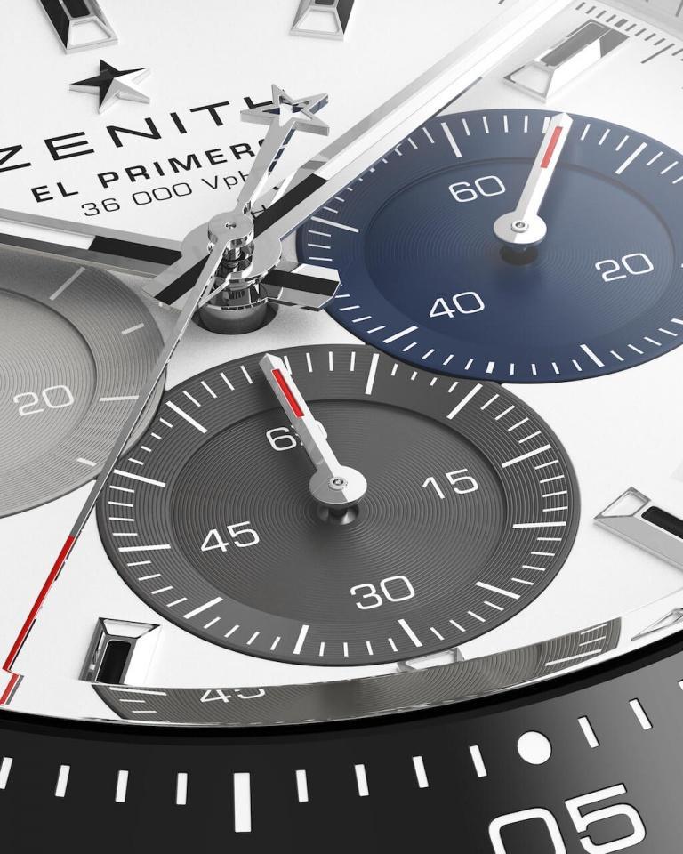ZENITH CHRONOMASTER EL PRIMERO SPORT 41mm 03.3100.3600/69.C823 White