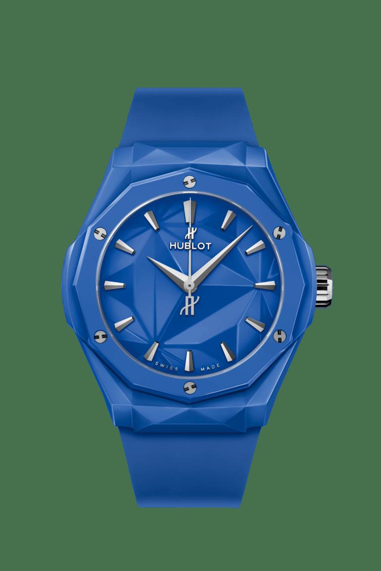 HUBLOT CLASSIC FUSION ORLINSKI 40mm 550.ES.5100.RX.ORL21 Bleu