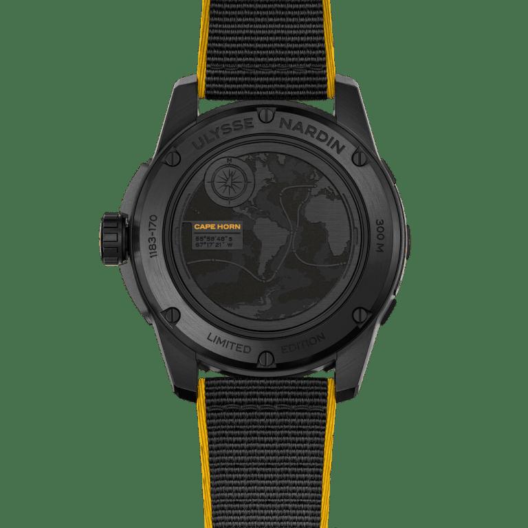 ULYSSE NARDIN DIVER X 44mm 1183-170LE/92-CAP Black
