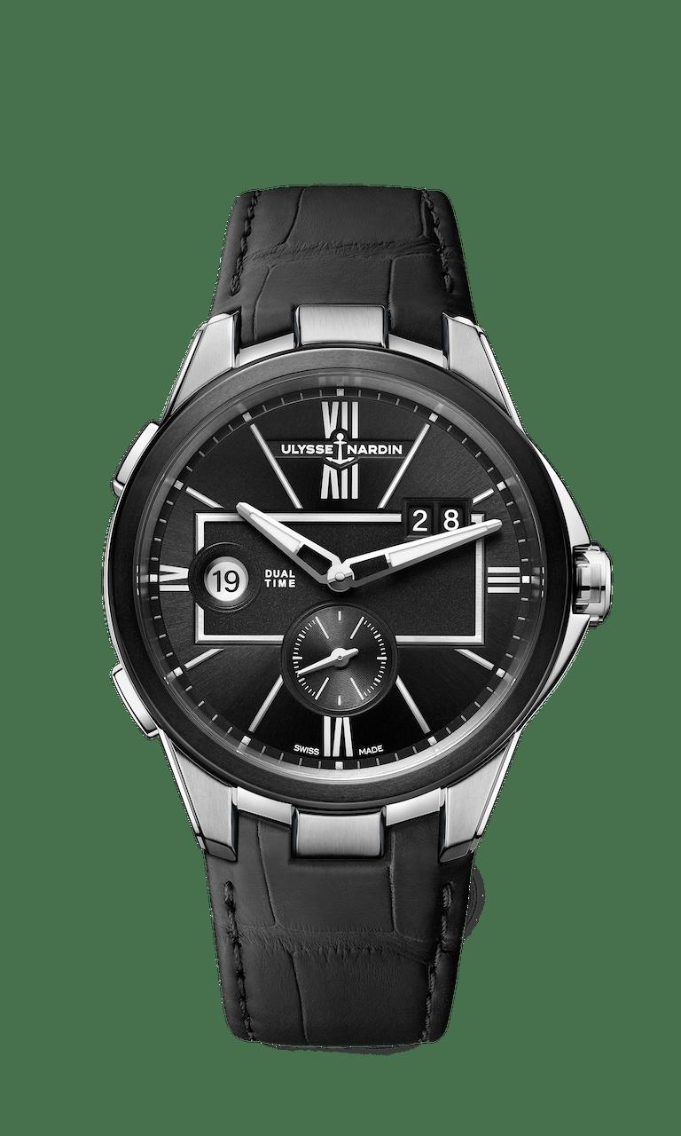 ULYSSE NARDIN EXECUTIVE DUAL TIME 42mm 243-20-3/42 Black