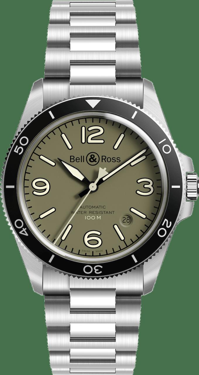 BELL & ROSS VINTAGE BR V2-92 BR V2-92 MILITARY 41mm BRV292-MKA-ST/SST Autres