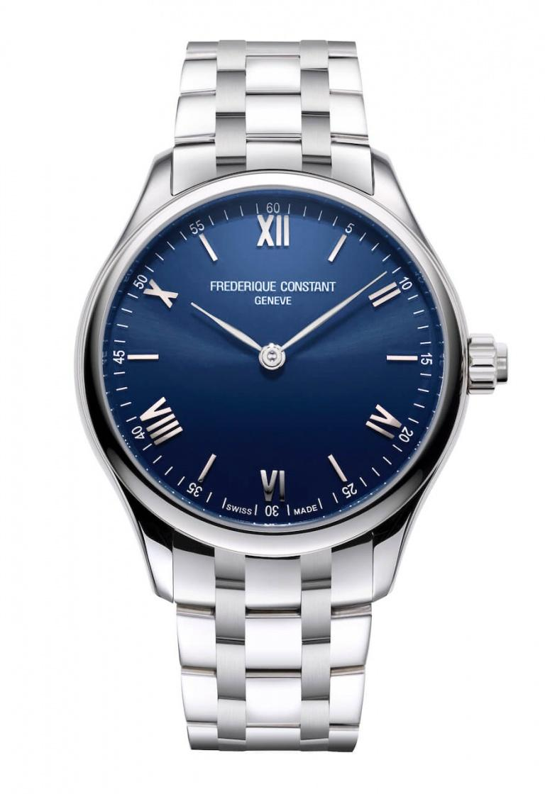 FREDERIQUE CONSTANT HOROLOGICAL SMARTWATCH VITALITY 42mm FC-287N5B6B Blue