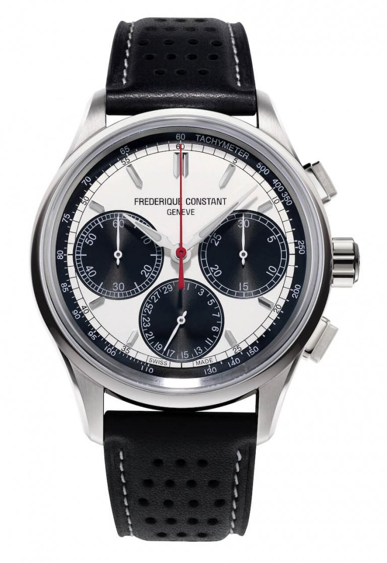 FREDERIQUE CONSTANT MANUFACTURE FLYBACK CHRONOGRAPH 42mm FC-760WB4H6 White