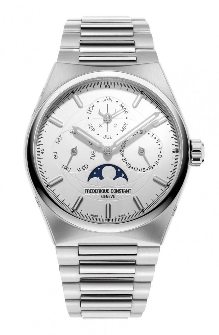 FREDERIQUE CONSTANT HIGHLIFE PERPETUAL CALENDAR MANUFACTURE 41mm FC-775S4NH6B Blanc