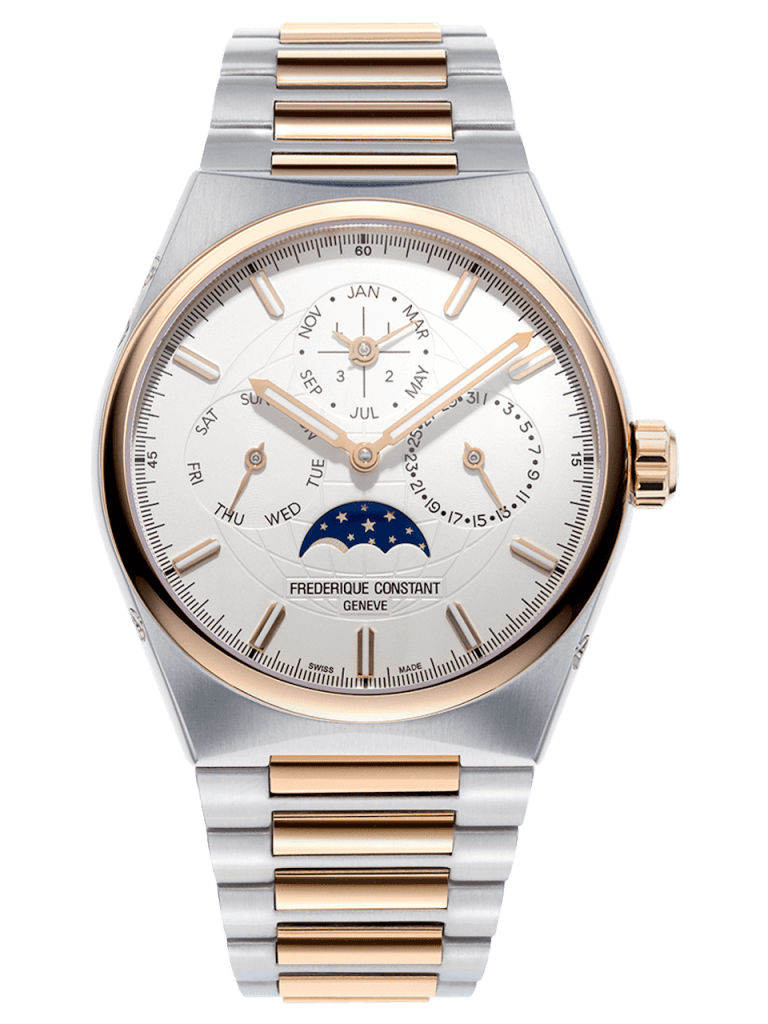 FREDERIQUE CONSTANT HIGHLIFE PERPETUAL CALENDAR MANUFACTURE 41mm FC-775V4NH2B White