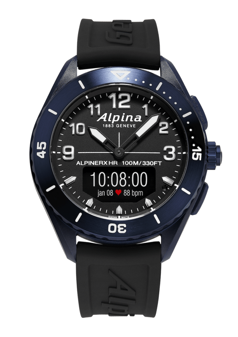 ALPINA ALPINER ALPINER X 45mm AL-284LBBW5NAQ6 Bleu