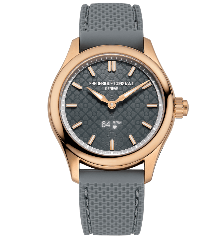 FREDERIQUE CONSTANT HOROLOGICAL SMARTWATCH VITALITY 36mm FC-286LGS3B4 Grey