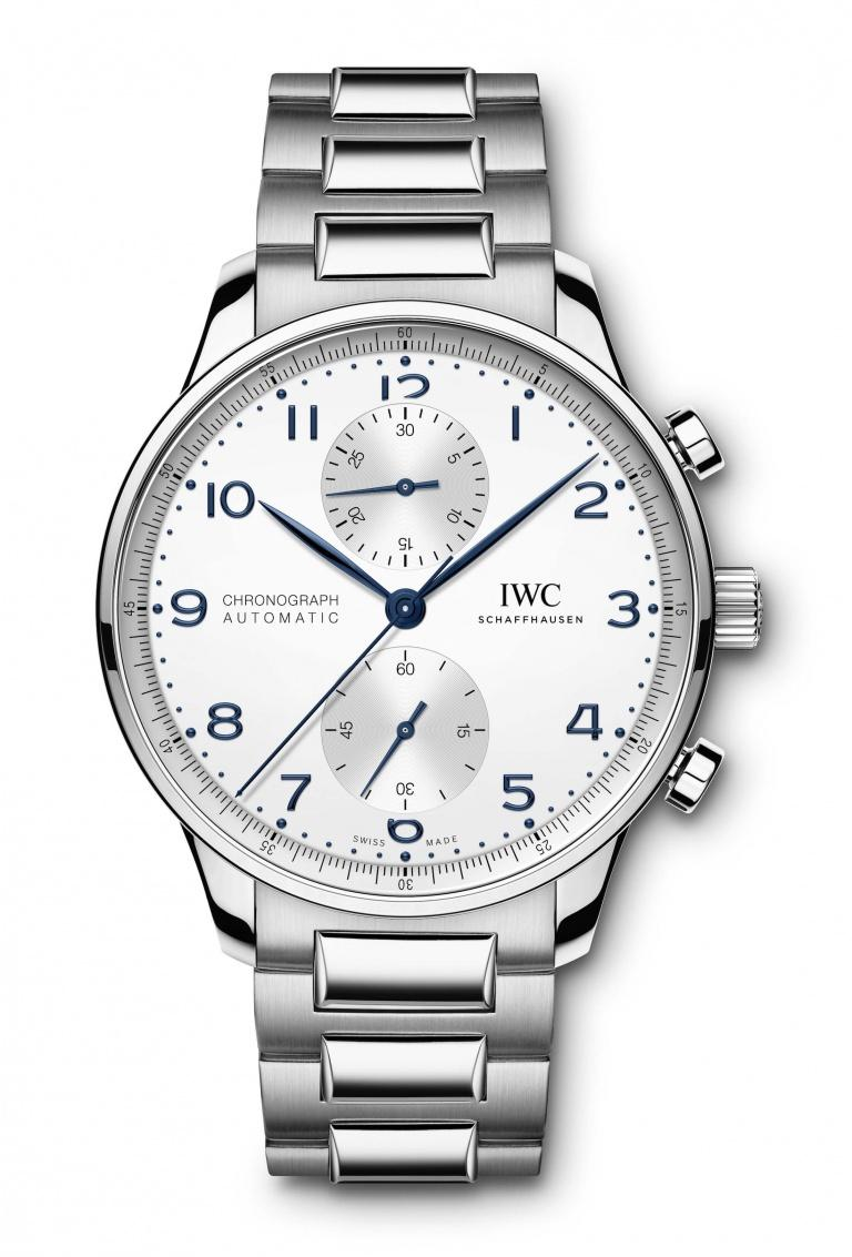 IWC PORTUGIESER CHRONOGRAPH MANUFACTURE 41mm IW371617 White