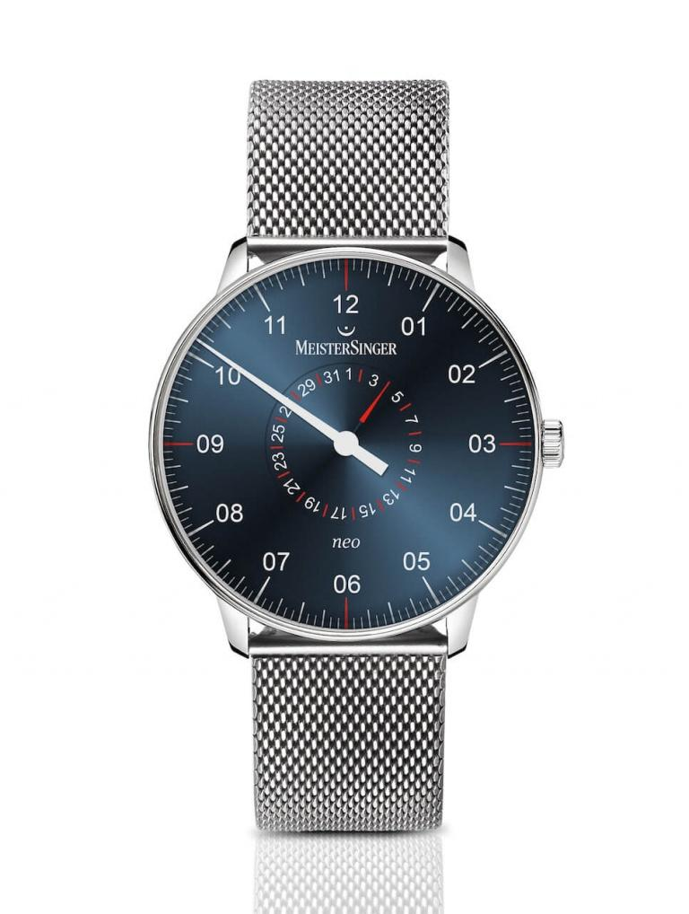 MEISTERSINGER FORM AND STYLE NEO PLUS 40mm NED427MLN Blue