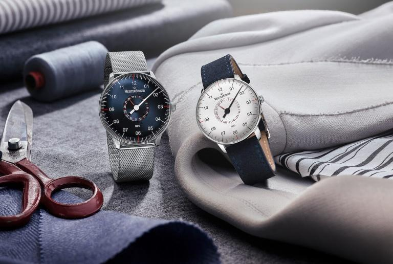 MEISTERSINGER FORM AND STYLE NEO 36mm NED927MLN Blue