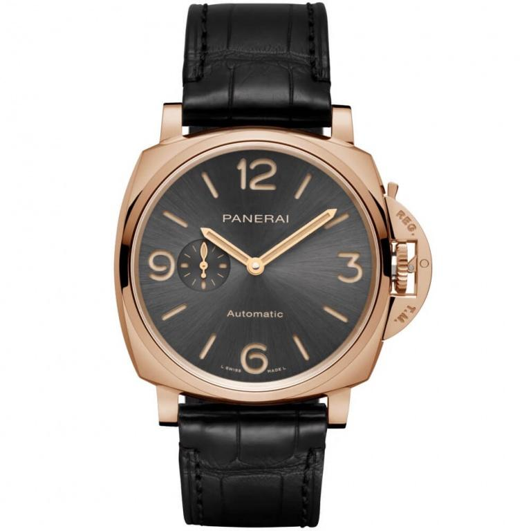 PANERAI DUE 3 DAYS AUTOMATIC ORO ROSSO 45mm PAM00675 Gris