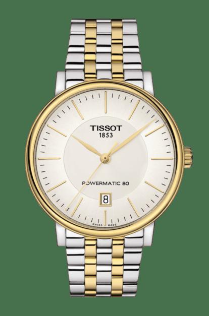 TISSOT CARSON POWERMATIC 80 40mm T122.407.22.031.00 White
