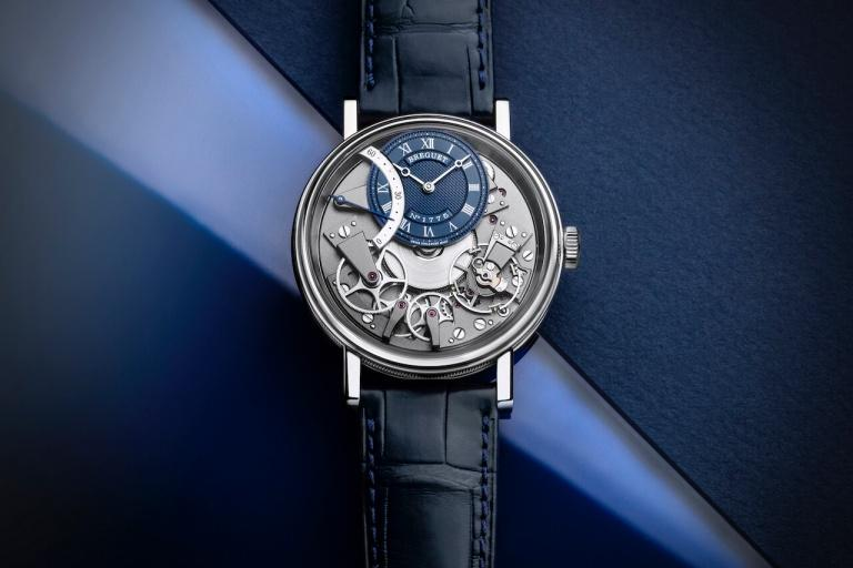 BREGUET TRADITION 7097 40mm 7097BB/GY/9WU Blue