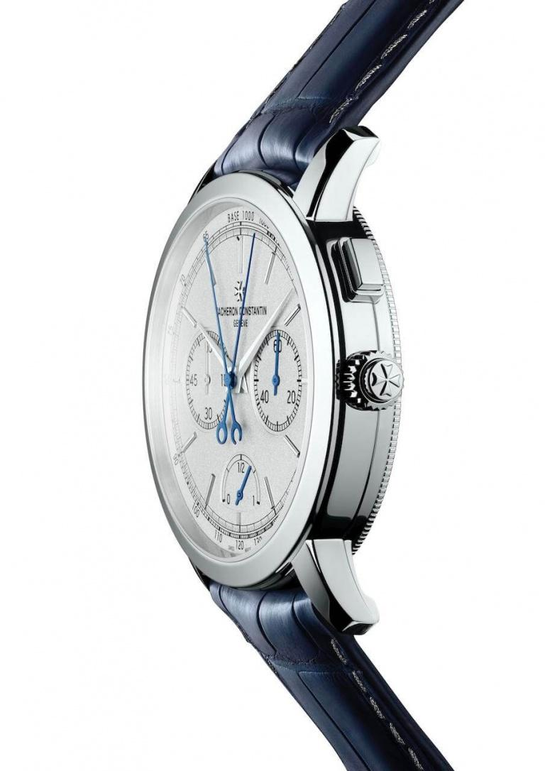 VACHERON CONSTANTIN TRADITIONNELLE ULTRA-THIN FLYBACK CHRONOGRAPH 42.5mm 5400T/000P-B637 Silver