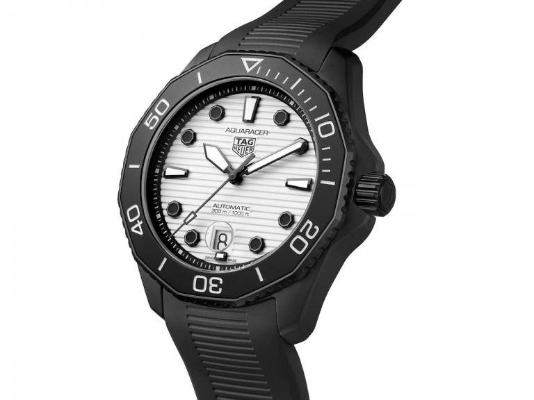 TAG HEUER AQUARACER AUTOMATIC 43MM 43mm WBP201D.FT6197 White
