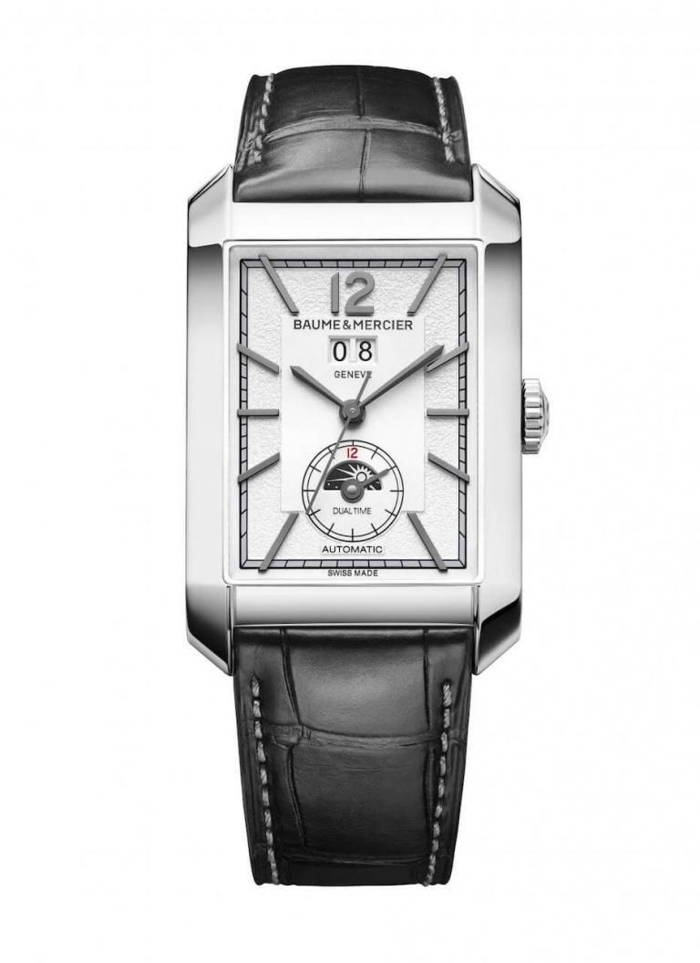BAUME & MERCIER HAMPTON DUAL TIME 48mm 10523 White