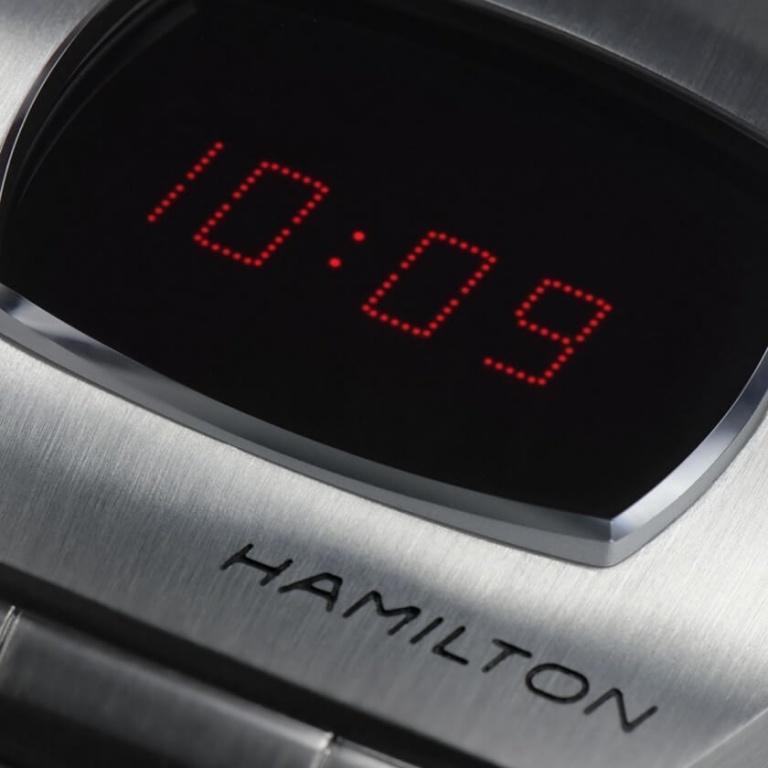 HAMILTON AMERICAN CLASSIC PSR DIGITAL QUARTZ 40.8mm H52414130 Connected