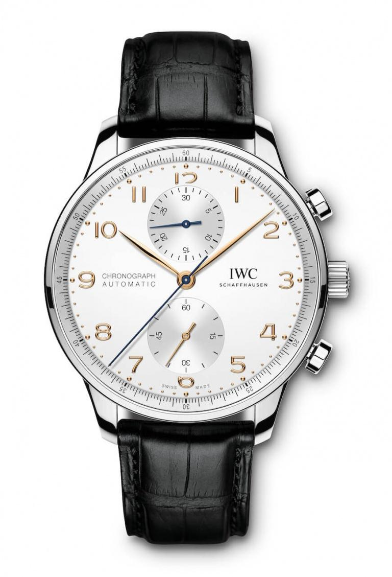 IWC PORTUGIESER CHRONOGRAPH MANUFACTURE 41mm IW371604 White