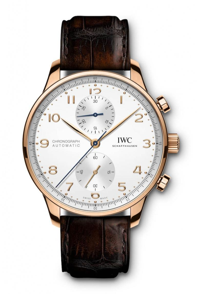 IWC PORTUGIESER CHRONOGRAPH MANUFACTURE 41mm IW371611 White
