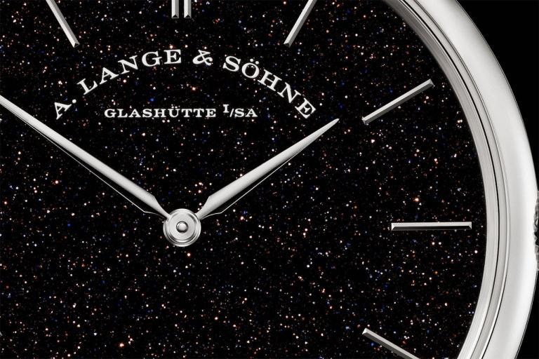 A. LANGE & SOHNE SAXONIA THIN 40mm 211.087 Noir