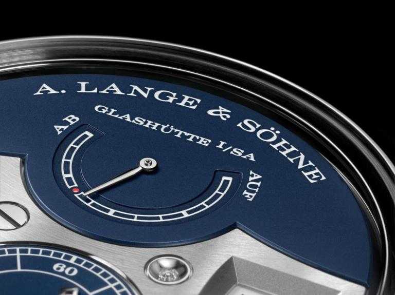 A. LANGE & SOHNE ZEITWERK DECIMAL STRIKE 44.2mm 147.028F Blue