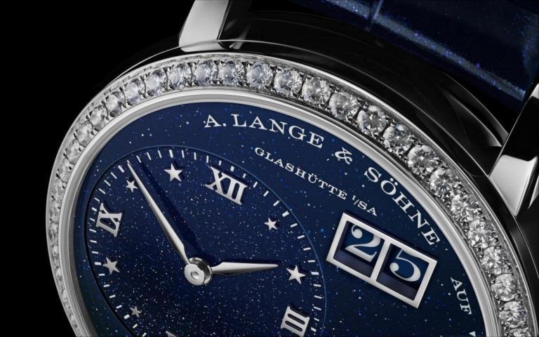 A. LANGE & SOHNE LANGE 1 LITTLE LANGE 1 MOON PHASE 36.8mm 182.886 Blue